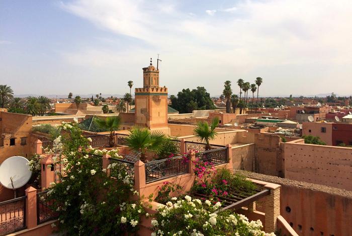 vejret marrakech januar