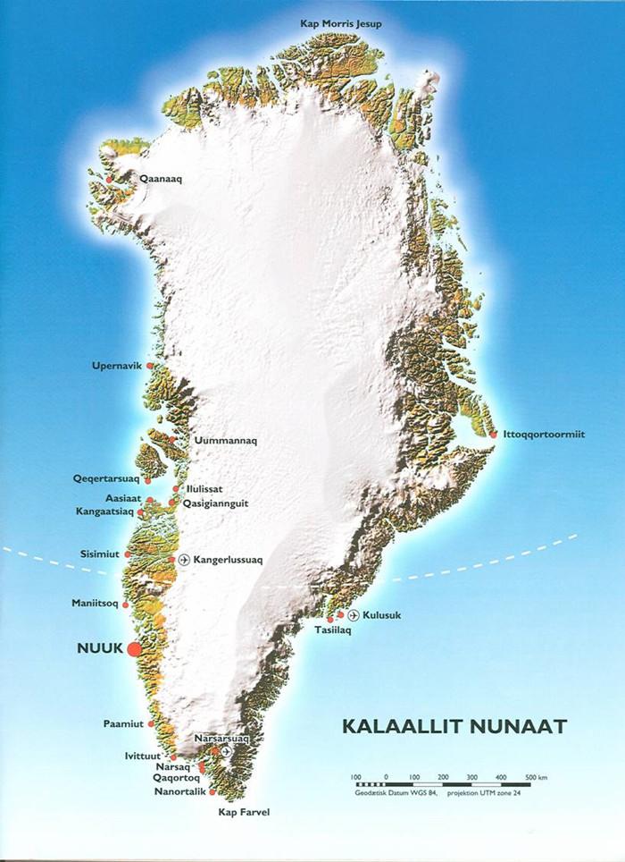 tidszone grønland