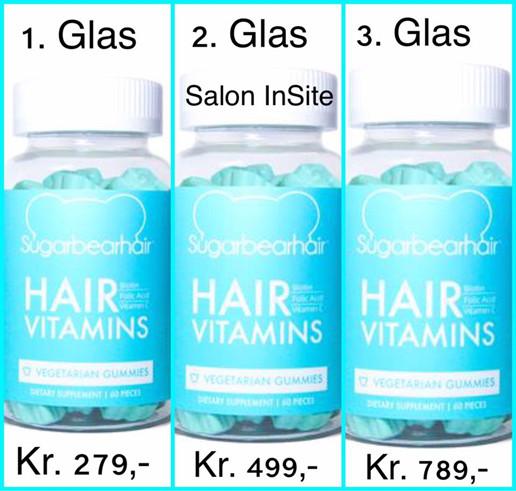 vitaminpiller til hår