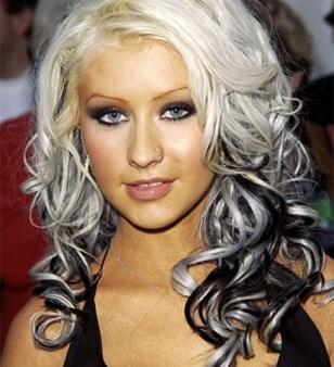 hårfarve sølvgrå