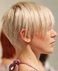 kort hår nakke