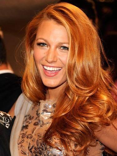 gyldent hår