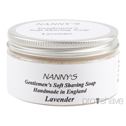 Nanny&#39;s Silly Soap Lavender Barbersbe, 100 gr.