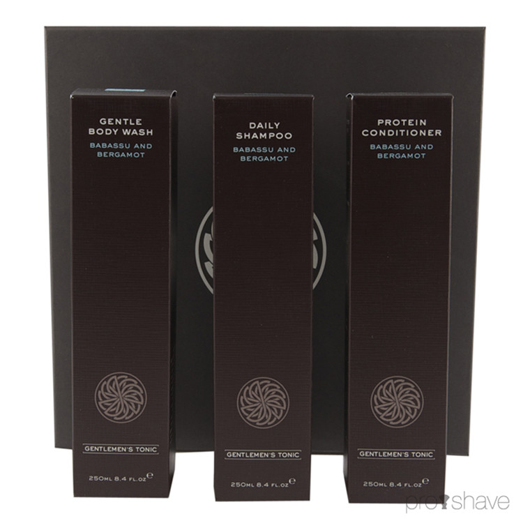 Gentlemens Tonic Shower Gift Set, 3x250 ml.