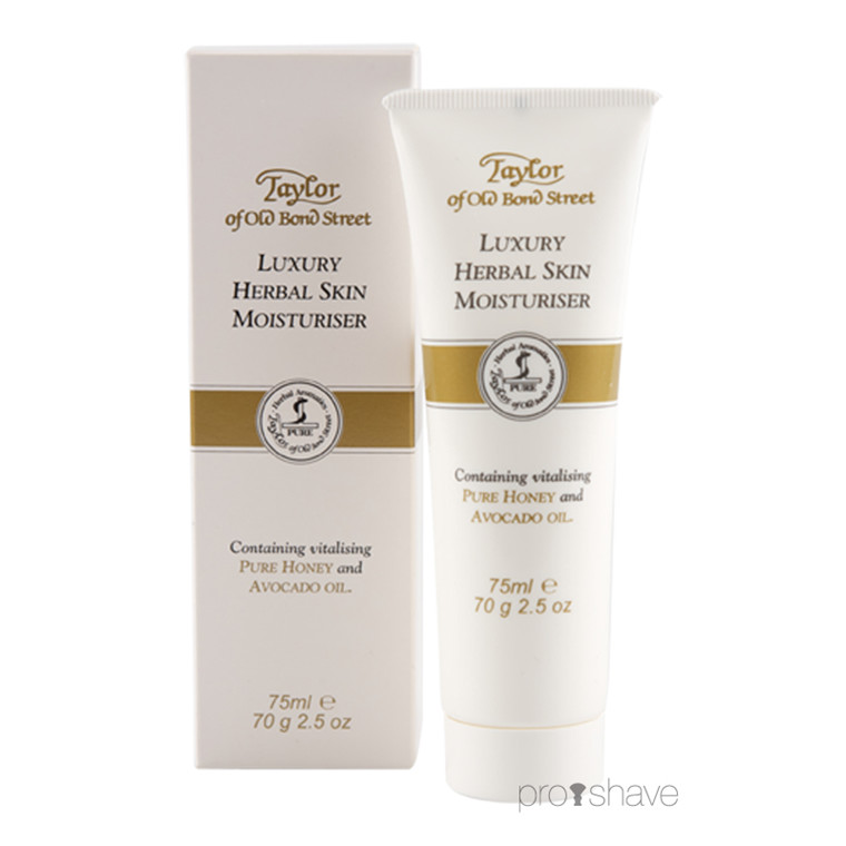 Taylor Of Old Bond Street Herbal Skin Moisturiser, 75 ml.