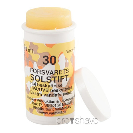 Forsvarets Hudsalve, 9 ml med solfaktor - SPF30