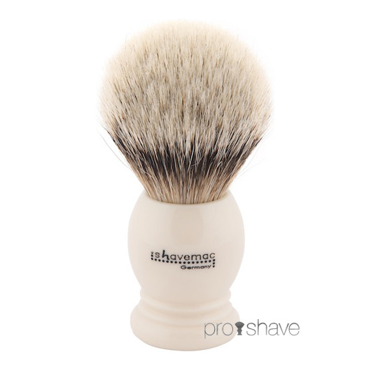 Shavemac Barberkost, Silver Tip Badger, 26mm