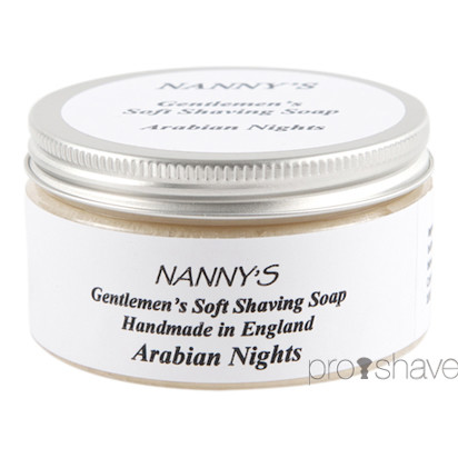Nanny's Silly Soap Arabian Nights Barbersæbe, 100 gr.