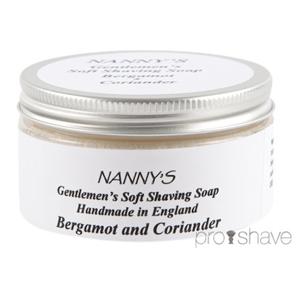 Nanny's Silly Soap Grapefruit & Lemongrass Barbersæbe, 100 gr.