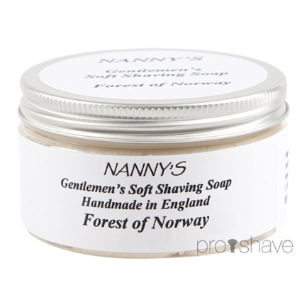 Nanny's Silly Soap Forest Of Norway Barbersæbe, 100 gr.