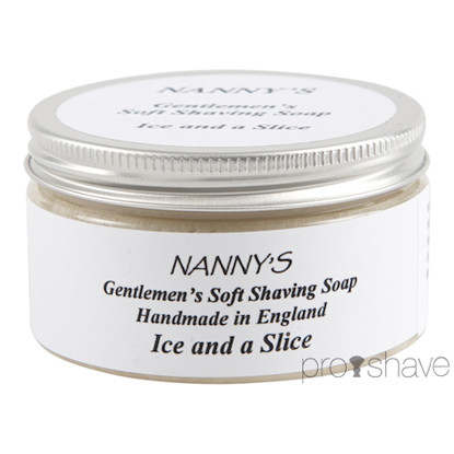 Nanny's Silly Soap Ice & A Slice Barbersæbe, 100 gr.