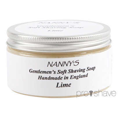 Nanny&#39;s Silly Soap Lime Barbersbe, 100 gr.