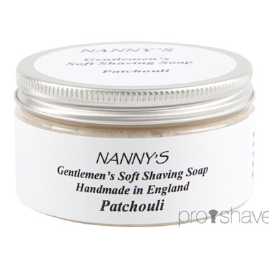 Nanny&#39;s Silly Soap Patchouli Barbersbe, 100 gr.