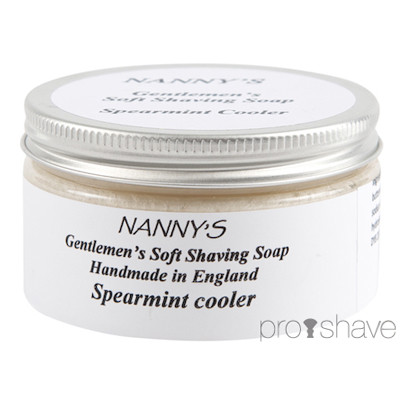 Nanny's Silly Soap Spearmint Cooler Barbersæbe, 100 gr.
