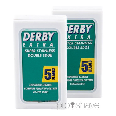 Derby Extra, Coated Barberblade 2x5 stk. (10 stk.)