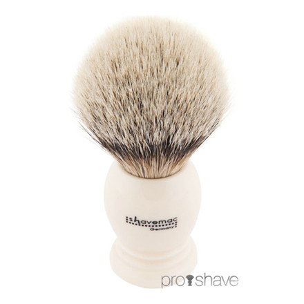Shavemac Barberkost, Silver Tip Badger, 23mm