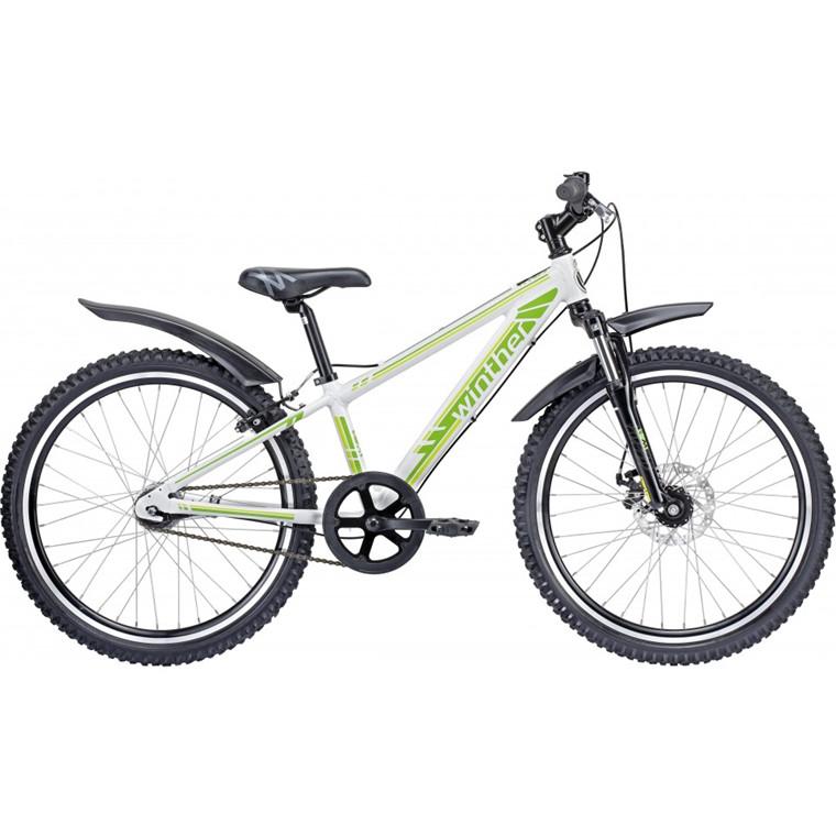 Winther 400 MTB - Drengecykel - Hvid/grøn - 2015