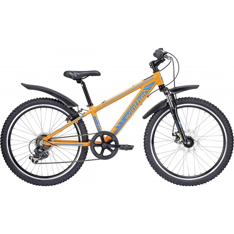 Winther 400 MTB - Drengecykel - 7 udv. gear - 2015