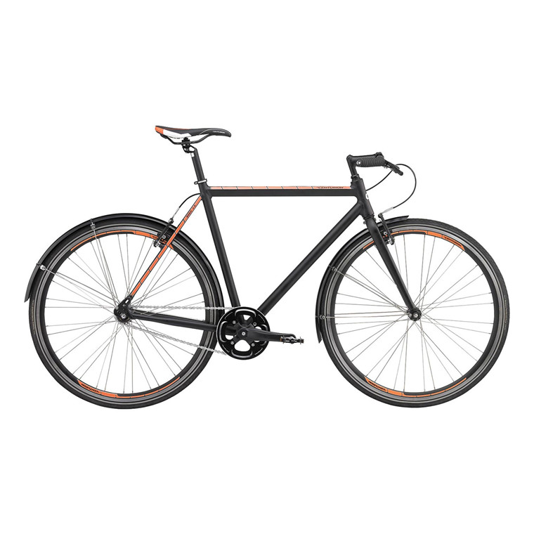 Centurion Basic 1 New - Fixie Herre - Mat Sort - 2015