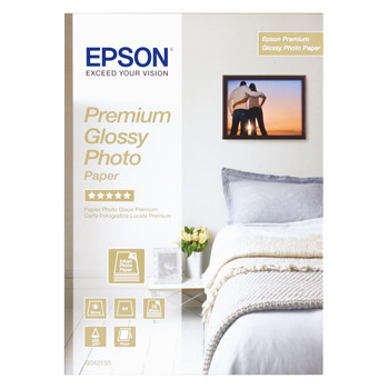 Epson A4 Premium Glossy Photo Paper, 255 g (30) - Gold
