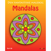 MALEBOG DEN FANTASTISKE MANDALAS - FRA 4 R