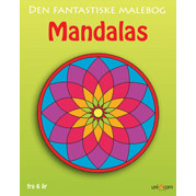MALEBOG DEN FANTASTISKE MANDALAS - FRA 6 R