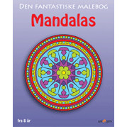 MALEBOG DEN FANTASTISKE MANDALAS - FRA 8 R