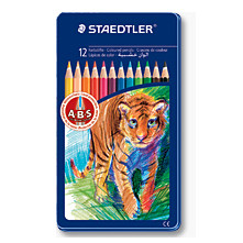 FARVEBLYANTER ANIMALS STAEDTLER /12 STK