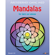 MALEBOG - MANDALAS RSTIDERNES GANG - BIND 3 - FOR BRN OG VOKSNE