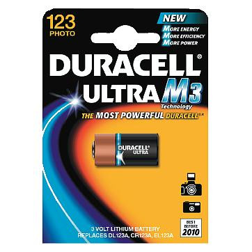 BATTERI DURACELL ULTRA DL123A-B1