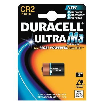 BATTERI DURACELL ULTRA CR2-B1