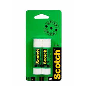 3M Scotch Classic Stick 6216C, 8gr (2-Pack)
