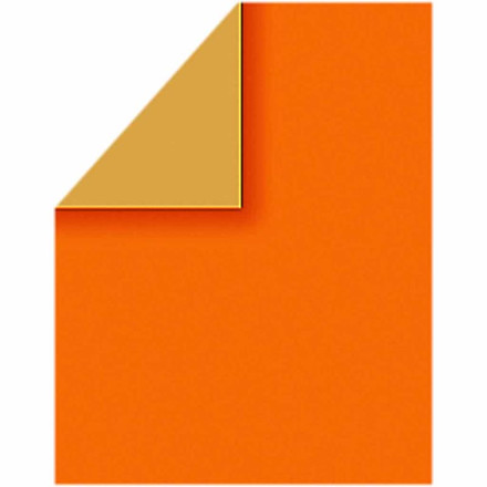 Color Bar, 21x30 cm, orange, ensfarvet, 20 ark