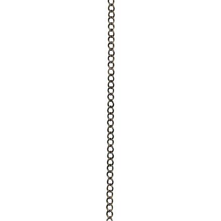Kæde, B: 3 mm, antik guld, AG, 2 m
