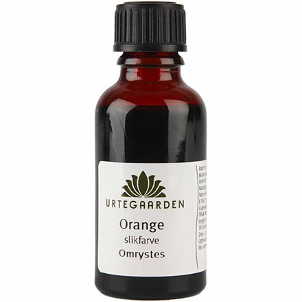 Slikfarve, orange, 30 ml