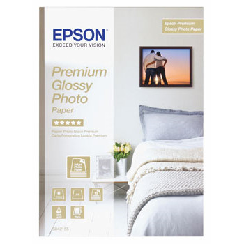 Epson A4 Premium Glossy Photo Paper 255 g (15) - Gold