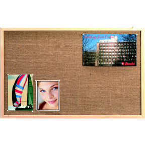 Esselte Pinboard Hessian Wood frame 60x80cm