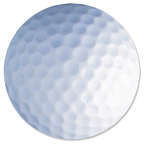 Fellowes Mouse pad, golf ball scene
