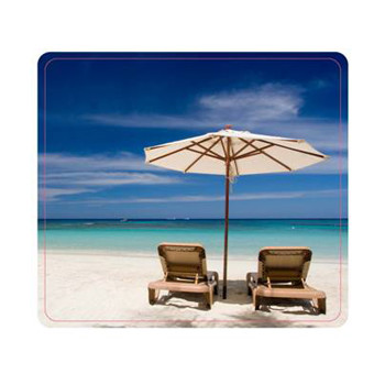 Fellowes Mouse pad, Earth Series Beach Chairs