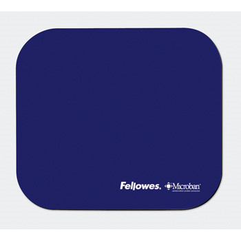 Fellowes Mouse pad with Microban, Navy