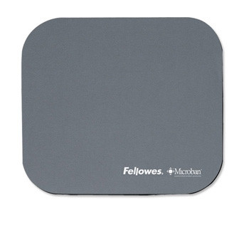 Fellowes Mouse pad with Microban, Silver