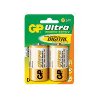 GP Batteries Battery Ultra Alkaline LR20/D 1,5V (2)