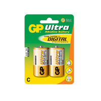 GP Batteries Battery Ultra Alkaline LR14/C    1,5V  (2)