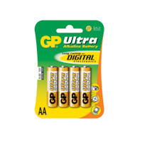 GP Batteries Battery Ultra Alkaline LR6/AA    1,5V  (4)