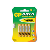 GP Batteries Battery Ultra Alkaline LR3/AAA   1,5V  (4)