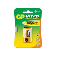 GP Batteries Battery Ultra Alkaline 9V/6LF22  9,0V  (1)