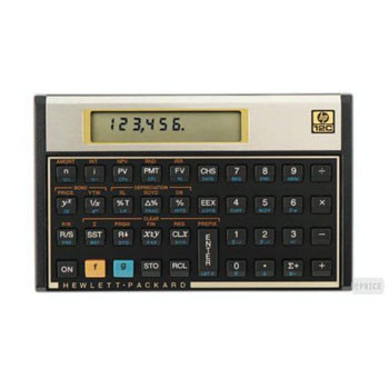 HP HP 12C financial calculator (Nordic manuall)