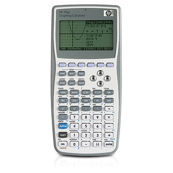 HP HP 39GS graphing calculator (UK manual)