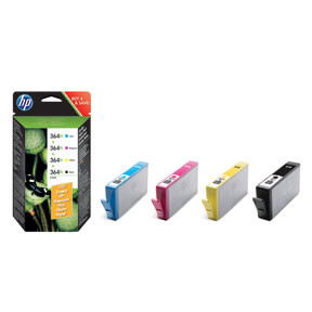 HP No364 XL Combo Valuepack (cyan, magenta, yellow, black)
