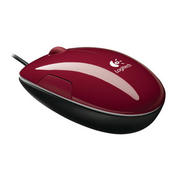 Logitech LS1 Laser Mouse (Cinnamon Red)